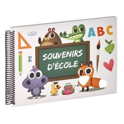 Album photo scolaire ABC Souvenirs d'école 32x24 cm