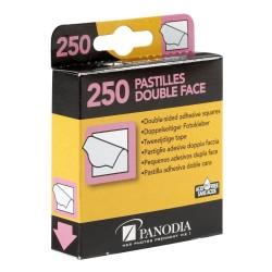 Boîte de 250 pastilles adhésives double-face