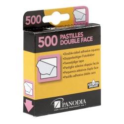 Boîte de 500 pastilles adhésives double-face