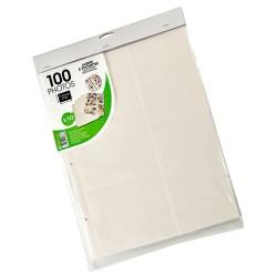 Recharge de 10 feuillets pochettes pour 100 photos 11,5x15 ou 10x15
