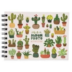 Album photo traditionnel 30 photos 11x15 Cactus