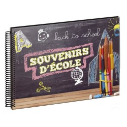 Album photo scolaire Back to school 34 pages