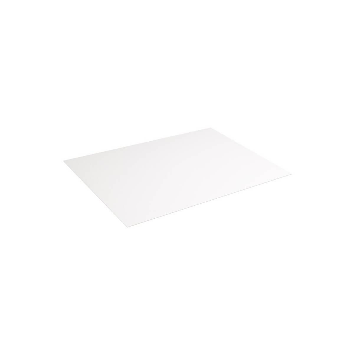 Plaque de contrecollé blanc