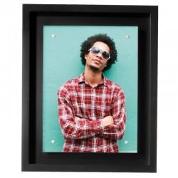 Cadre photo Loft Noir 13x18 cm