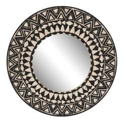 Miroir rond Ethnique 40 cm