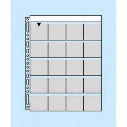 M56 10 feuillets de classement pour diapositives 5x5 cm