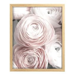 Image encadrée Bouquet 40x50 cm baguette en bois FSC