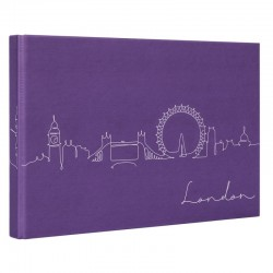 Album photo traditionnel Lineart Londres 180 photos 10x15 cm