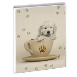 Album photo pochettes bébé chien photos 11,5x15 cm  36 photos