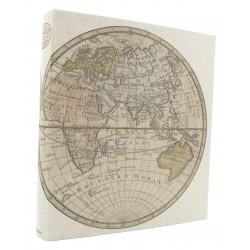 Album photo traditionnel Map Monde 600 photos 10x15 cm de biais