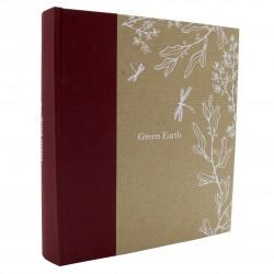 Album photo pochettes Greenearth libellule 200 photos 11,5x15 cm biais