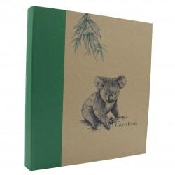 Album photo traditionnel Greenearth koala 600 photos 10x15 cm biais