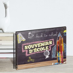 Album photo scolaire Back to school 34 pages ambiance