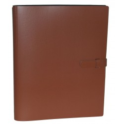 Album photo rechargeable compact Ialta marron 24x32 cm